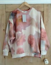 Zara Long Sleeve None Floral Jumpers & Cardigans for Women