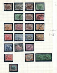 MALAYA  tigers 1900-1934 includes all Watermarks Mint & Fine Use See all 3 Scans