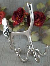 Wandgarderobe Wandhaken Kleiderhaken Garderobe Garderobenhaken Aluminium silber