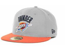 Oklahoma City Thunder Ball Cap Hat~New Era 59Fifty~Size 7 3/4~NBA~FREE Shipping