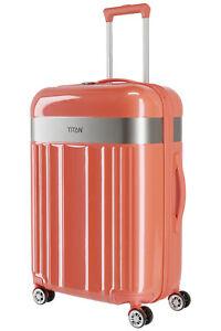 Titan Spotlight Flash 4w 4Rollen Koffer Trolley M 67 cm Cape Coral Orange- %
