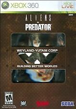 Aliens vs. Predator: Hunter Edition (Xbox 360) NEW!!