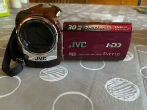 JVC GZ-MG330RU 30 GB Camcorder - Red New in box. Never used.