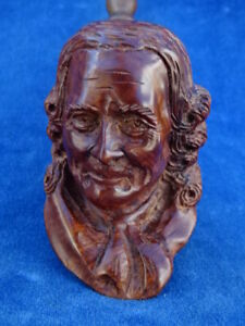 SUPERBE RARE TOP ! PIPE SCLUPTEE Carved pipe - ROGER VINCENT - MOLIERE ?