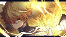 Anime  Demon Slayer Kimetsu no Yaiba Silk Poster 24 X 14 inch Wallpaper