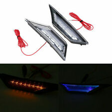 Pair Clear Front LED Side Marker Lights Turn Signal For Honda Civic 2016-2018