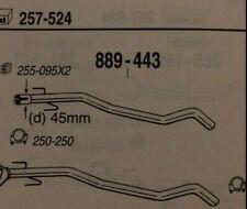 CAT 889443 VAUXHALL Corsa 1.7di Turbo DIESEL 09/00- (further details in desc)