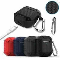 For Apple AirPods 2nd Gen Wireless Charging Case TPU Armor Protective Cover Skin