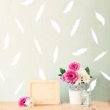 Cute Wall Art Feather Sticker Vinyl Decals Kids Home Room DecorationMurals DIY