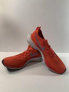 Nike Mens Vaporfly 4 Percent Flyknit AJ3857-600 Crimson Running Shoes Size 8.5