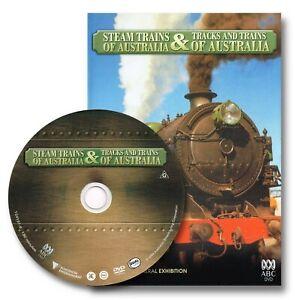 STEAM TRAINS OF AUSTRALIA & TRACKS AND TRAINS ABC DVD R4 region 4