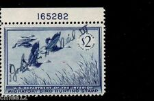 #RW22 Blue Geese Plate #Single - MNH Signed (Full gum)