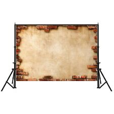 2.2*1.5m Vintage Brick Wall Photography Backdrops Background Photo Prop