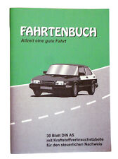 Fahrtenbuch DIN A5 Fahrtenheft 30 Blatt Fahrtenbücher PKW LKW Buch A 5 Fahrt