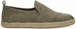 Toms Deconstructed Alpargata Rope Men Hatching shoe   slipper   Canvas - NEW