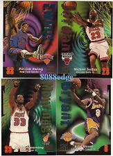 1997-98 SKYBOX Z-FORCE SERIES 1 COMPLETE 110 CARD SET: MICHAEL JORDAN/SHAQ/KOBE