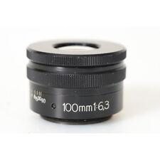Zeiss Luminar 6,3/100 RMS - Lupenobjektiv - Spezialoptik für Makro Fotografie