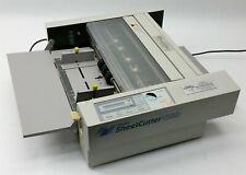 Duplo SheetCutter V580 V-580 Auto Feed Sheet Document Paper Cut Cutter Machine