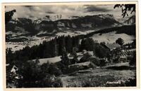 Ansichtskarte Bergcafe Reutealp - Reute - Panorama - Berge - schwarz/weiß