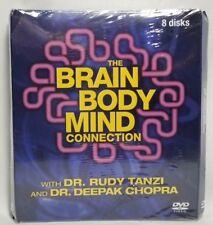 The Brain Body Mind Connection w Dr Rudy Tanzi Dr Deepak Chopra 8 Disc DVD Set