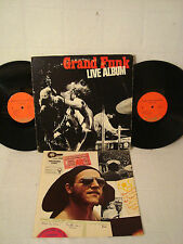 GRAND FUNK LIVE ALBUM WITH POSTER MASTERED BY CAPITOL