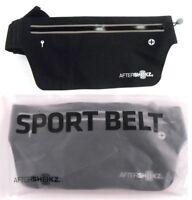 AfterShokz Sport Belt Waterproof Travel Running Hiking Cycling Waist Bag Black