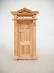 Half Scale 1:24 - Door Victorian  Dollhouse miniature wooden H6013 Houseworks G