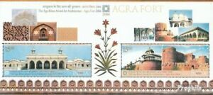 India block29 (complete.issue.) unmounted mint / never hinged 2004 Architecture