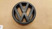 VW GOLF JETTA MK2 FRONT GRILL ROUND VOLKSWAGEN BADGE EMBLEM 323853601