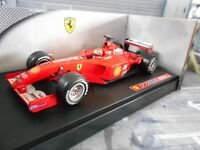 F1 FERRARI F2001 #1 Michael Schumacher Saison 2001 Tabak Hot Wheels UMBAU 1:18