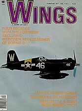 WINGS V7 N1 GRUMMAN A-6 INTRUDER USN USMC VA VMA(AW) / WW2 BOEING B-17 DESIGNER