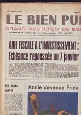 journal le bien public samedi et dimanche 27-28 decembre 1975
