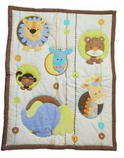 Little Bedding By Nojo Circle Of Friends  Appliqued Crib Comforter Only - Jungle