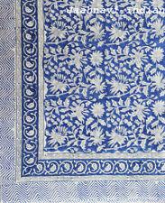 Long Block Print Indian Fashion Women Cotton Scarf Wrap Sarong Shawl Large Art