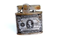 Antique Rare Cigarette Omega Super Lighter One Hundred Dollar Design. G76-59 US