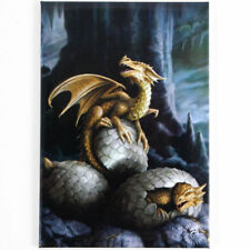 Quality Anne Stokes Fridge Magnet~Fantasy Art~Golden Treasure~AS22~uk seller