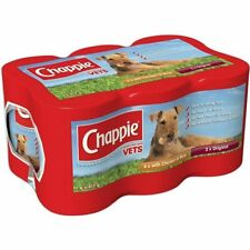 More details for chappie wet dog food pet food supplies tinned cans favourites 6 x 412g