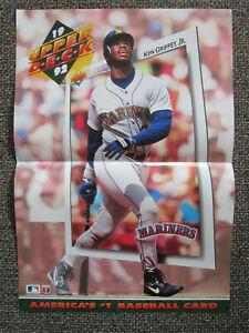 "1992 Upper Deck KEN GRIFFEY JR. PROMOTIONAL POSTER 21"" x15"" Seattle Mariners"