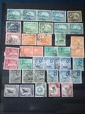 R601. ADEN. Lot timbres oblitérés