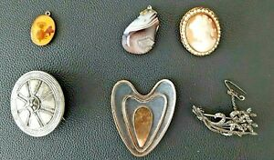Vintage  brooches twelve to chose from pendants and earrings very good condition