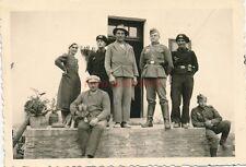 Foto, Einmarsch in das Sudetenland 1938, Jägerndorf, Quartierleute (N)19187