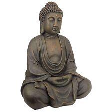 Outdoor Buddha Statue Garden Patio Sculpture Lawn Decorative Figure Yard Decor