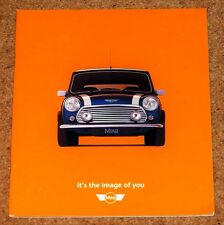 1999 MINI 1.3i & COOPER Sales Brochure - New Old Stock & MINT!
