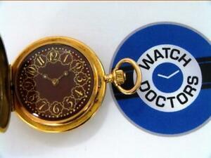10% SALE 18ct Gold Full Hunter Pocket Watch (34 WRR)