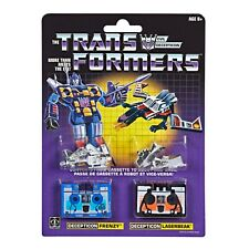 Transformers: Vintage G1 Cassette 2-Pack Decepticons Frenzy and Laserbeak