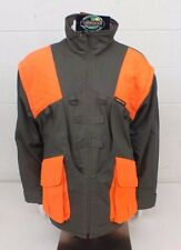 Limbsaver Olive Green & Blaze Orange Fleece Lined Jacket w/Recoil Pad L NEW