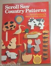 Scroll Saw Country Patterns by Patrick Spielman and Sherri Spielman Valitchka