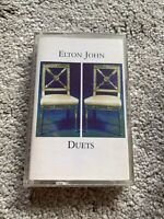 Elton John - Duets - Cassette Tape Album - Kiki Dee Little Richard Chris Rea