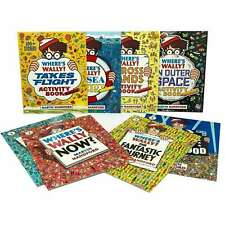 Wheres Wally Amazing Adventures and Activities Collection 8 Books Bag Set NEW