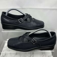 HOTTER Melody Dark Blue Shoes Size UK 7 (Eu41) Women's Leather Casual Comfort